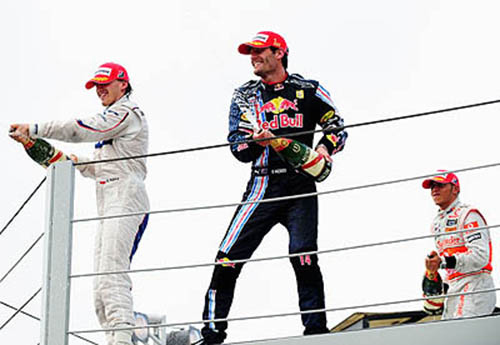 Webber wins in Brazil