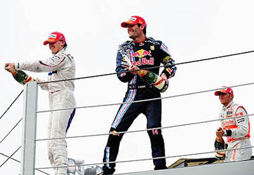 Webber wins in Brazil