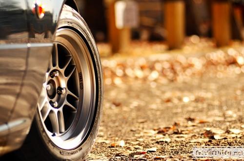 and leaf season. and new wheel season!
