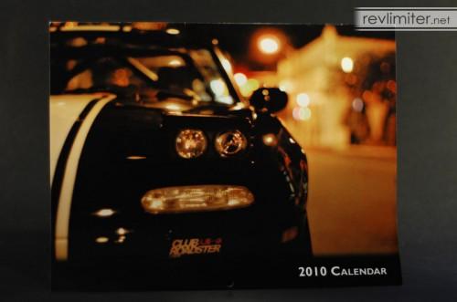 ClubRoadster.net 2010 calendar cover