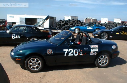 2001: Sharka's first autocross season.