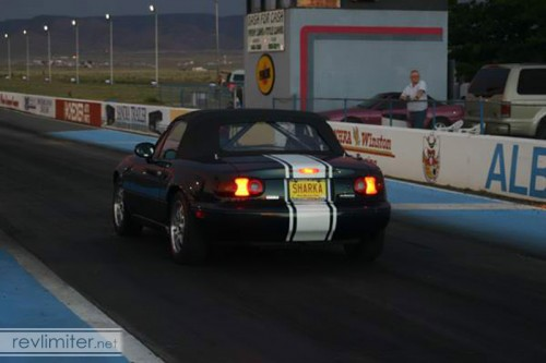 2004: At the drag strip