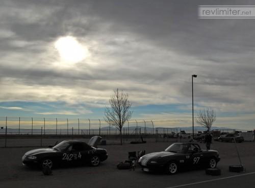 2005: Sunrise at an autocross