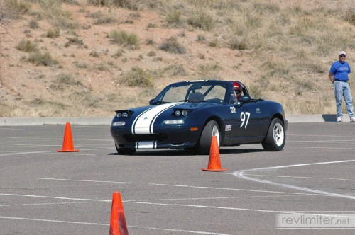 2006: Back in CSP, killing cones with a smile.