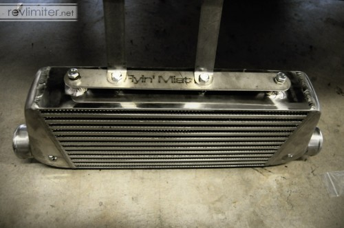 Beefy intercooler