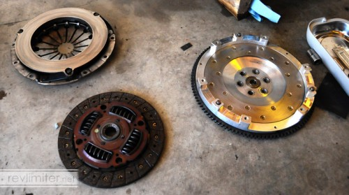 Clutch and flywheel