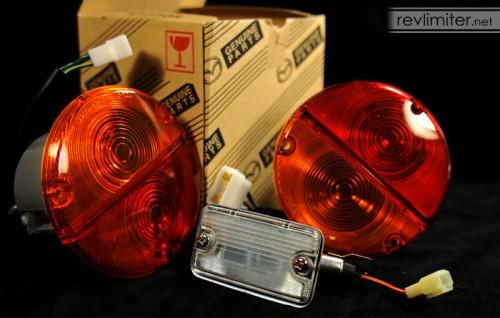 Nostalgic Mazda tail lamps