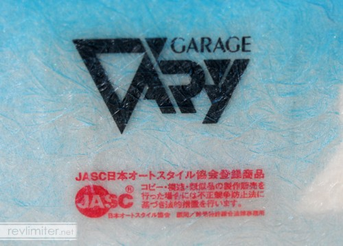 Official Garage Vary parts here. No knock-offs.