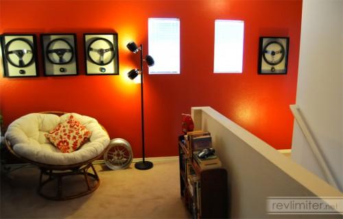 My loft. Artwork by Momo and Nardi.