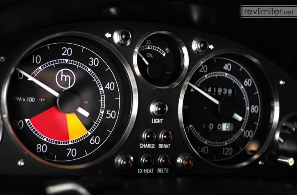 revlimiter Gauges - Version Rossa