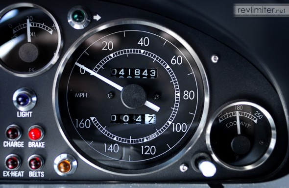 Speedometer and Coolant