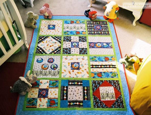Harriet's quilt.