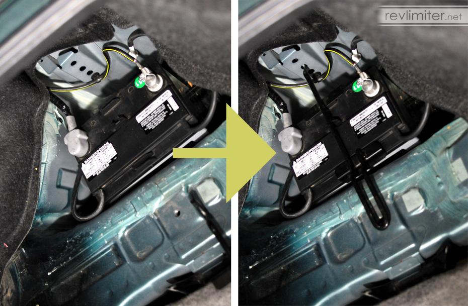 Dsc on Mazda Miata Battery Location