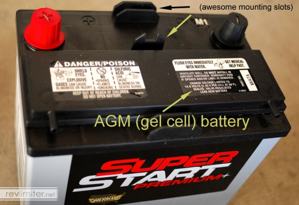 AGM batteries FTW!