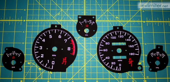 Custom gauge set... that reads up to 180?
