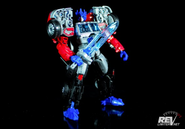 Transformers United Laser Optimus Prime