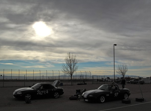 At an autocross.