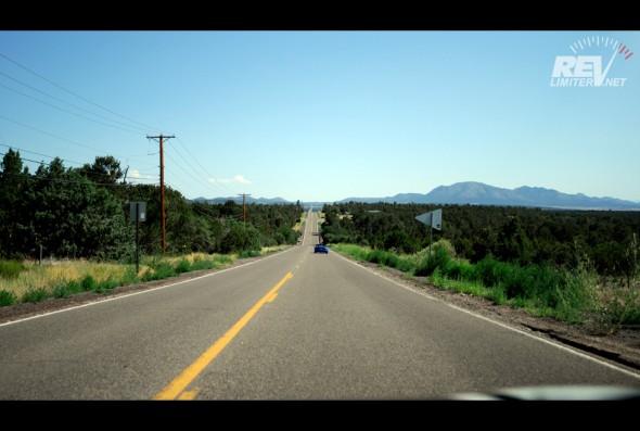 Rolling hillsides.