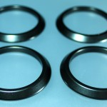 Satin black vent rings.
