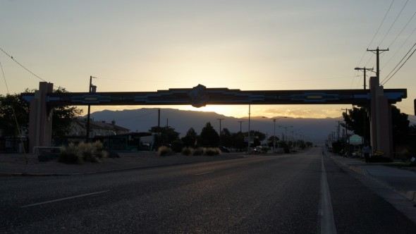Route 66 at Sunrise