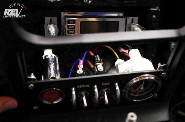 Panel wiring.