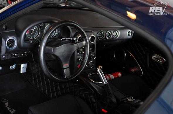 My lucky steering wheel.