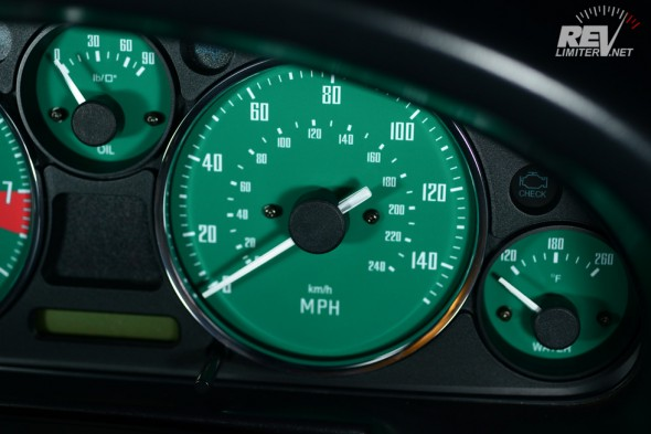 GT-40 speedometer