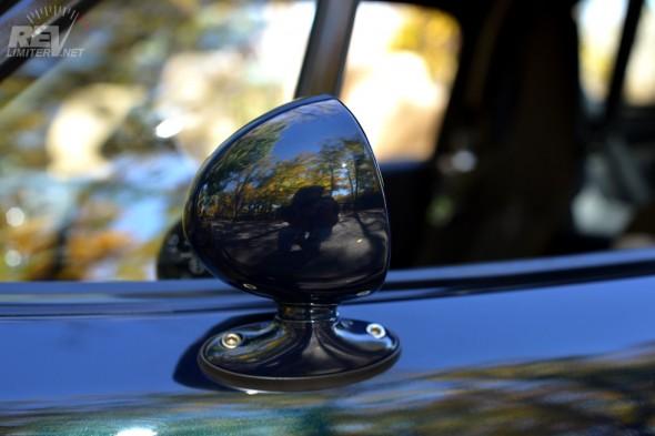 Driver's mirror.