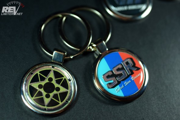 And more custom keychains!
