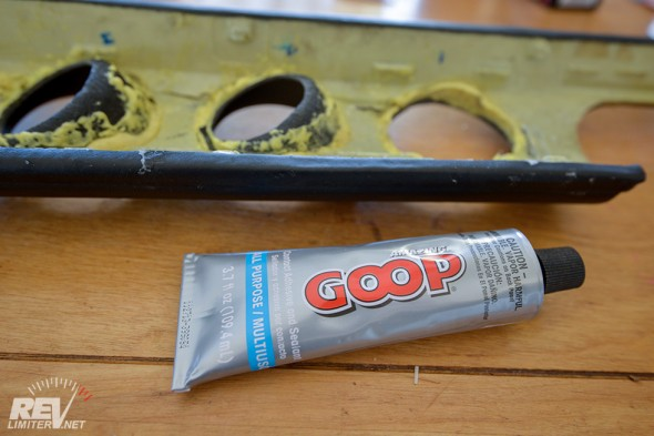 Goop. Not quite Shoe Goo but pretty good.