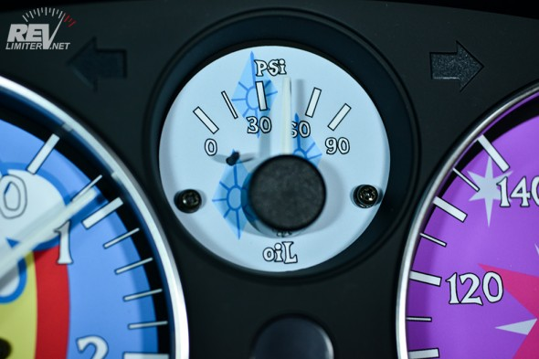 Rarity oil gauge.