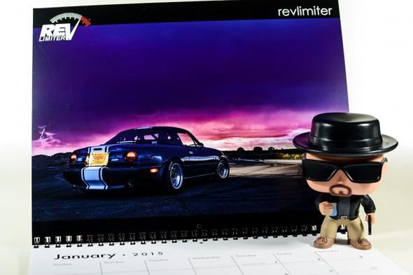 Heisenberg roadster.