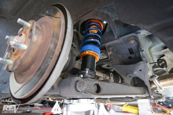 Rear Xida torqued.