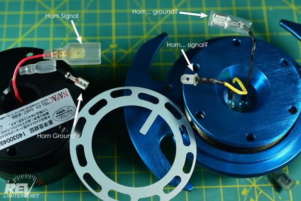 NRG horn ring - hub side