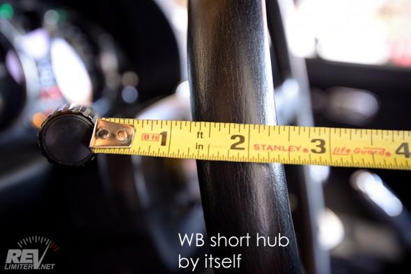 Wheel to signal stalk distance