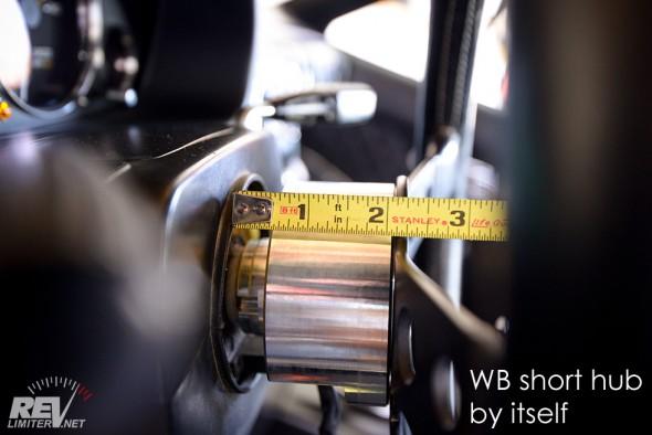 WB short hub thickness