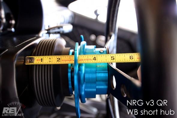 Hub/QR thickness
