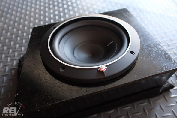 Rockford Fosgate P1S4-8 installed.