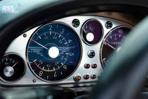 Warbird Edition gauges.