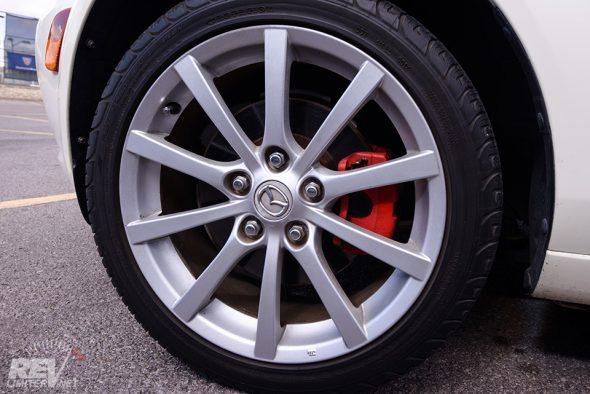 """17"""" wheels. So huge!"""