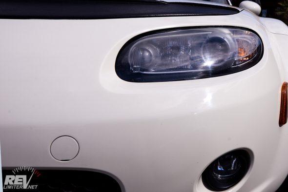 Xenon headlights. That means LSD!
