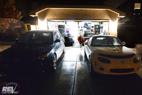 A selection of Mazdas.