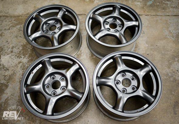 FD wheels in Porsche Platinum Satin