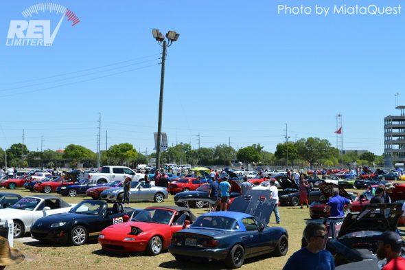 A field of Roadsters.