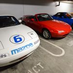Mazda Basement Tour - The Miatas