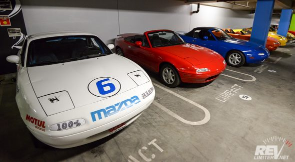 Miata Parking Only