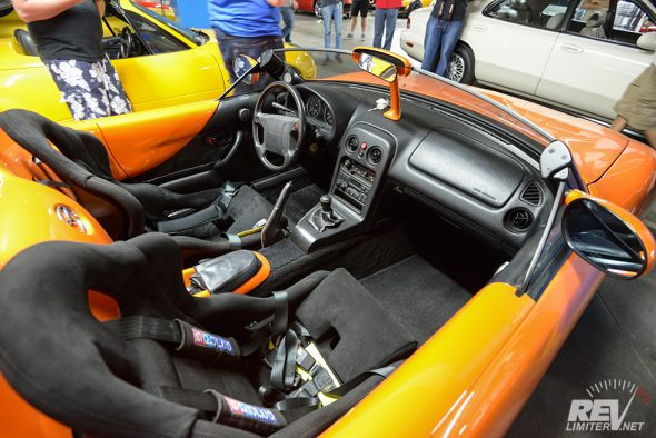 M-Speedster interior