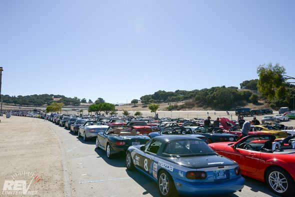 Miatas at MRLS!