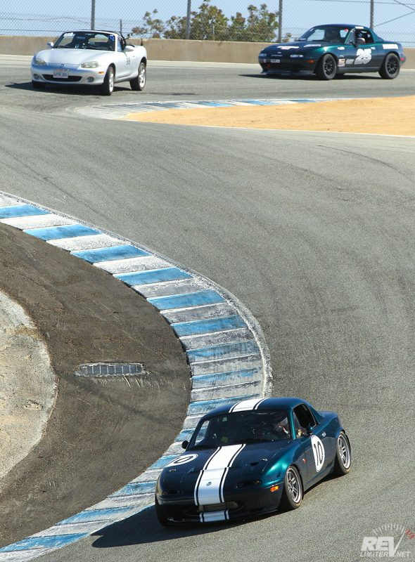 On the Corkscrew at 59,999