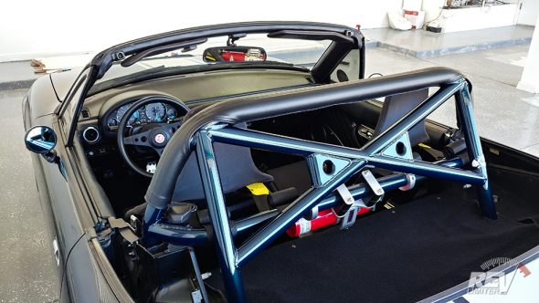 Rollbar cover installed.